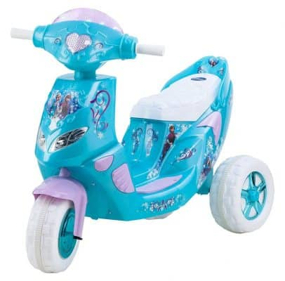 Kid Trax Frozen Twinkling Lights Scooter