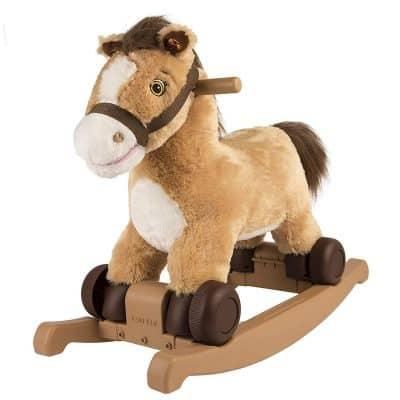 Rocking' Rider Pony Ride-On Toy