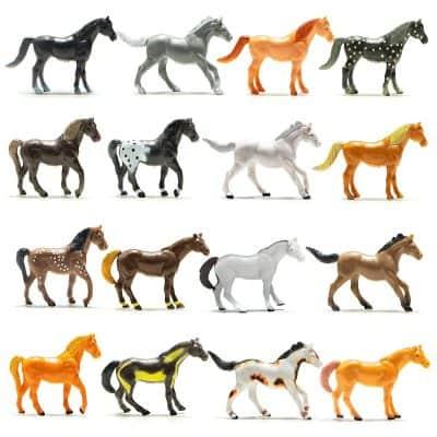 Prextex Plastic Horses