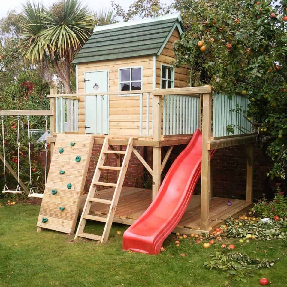 Best Outdoor Playhouses For Kids Toddlers 2020 Littleonemag