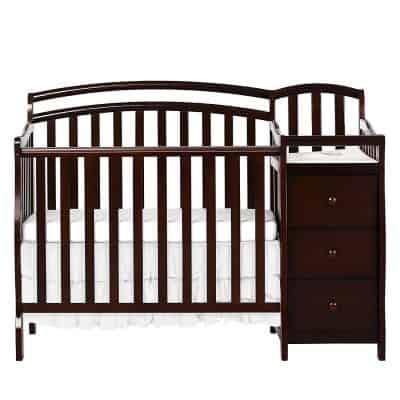 Dream On Me Casco Mini Crib & Changer