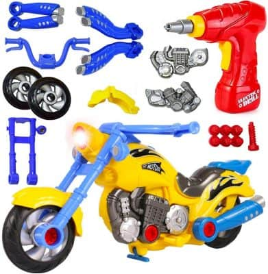 Liberty Imports Take-Apart Motorcycle
