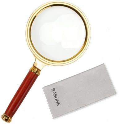 10X Handheld Reading Magnifier