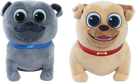 Disney Puppy Dog Pals Plush Gift Set: Bingo and Rolly
