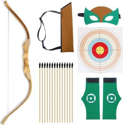 Knidose 35 Piece Bow Beginner Bow and Arrow Set