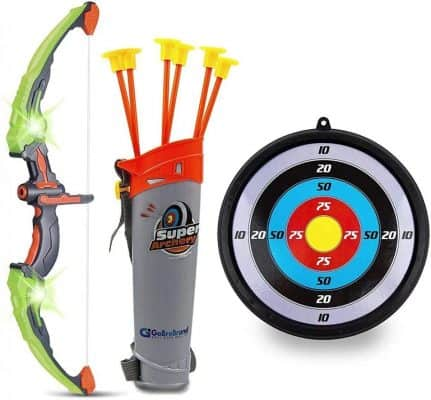 GoBroBrand Bow and Arrow Set for Kids