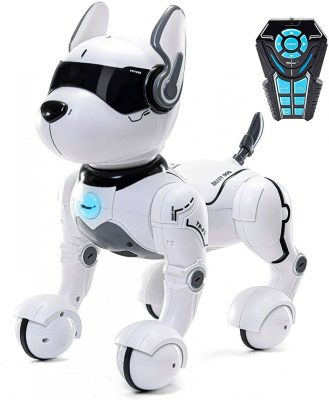 Top Race Remote Control Robot Dog Toy