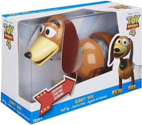 Slinky Dog Pull Spring Toy