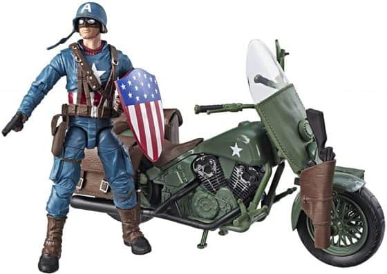 Marvel Legends Captain America with Motorcycle