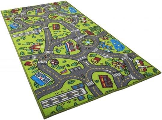 Rug City Traffic Play Mat