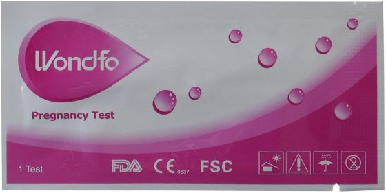 Wondfo Pregnancy Test Strips HCG