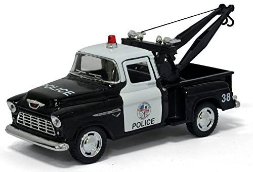1955 Chevy Stepside Pick-Up Tow Truck (Police)