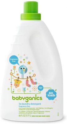 Babyganics Liquid Baby Laundry Detergent