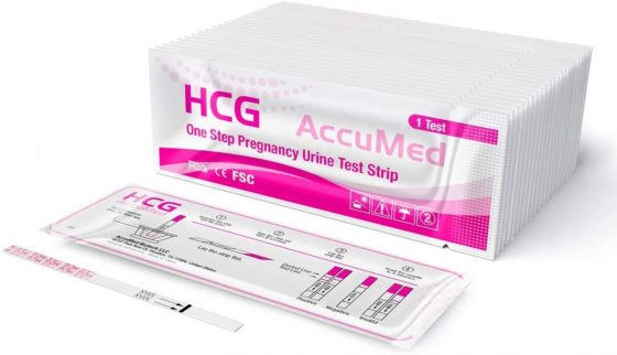AccuMed Midstream Pregnancy Test