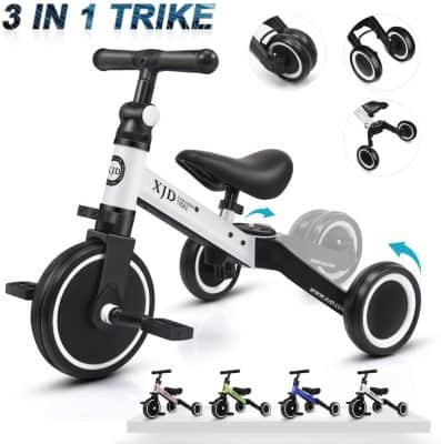 XJD 3-in-1 Tricycle