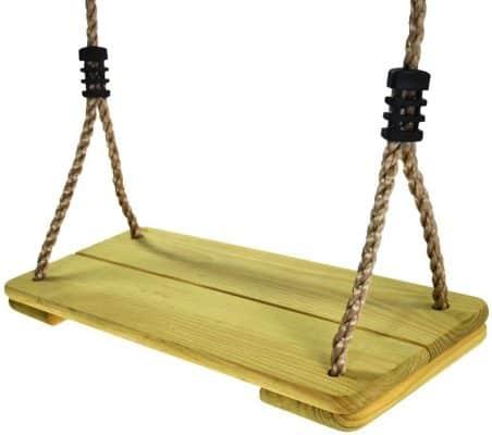 Happy Pie Play&Adventure Wooden Hanging Swing