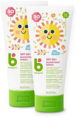 Babyganics Mineral-Based Baby Sunscreen Lotion SPF50