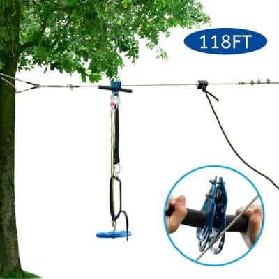 JOYMOR Backyard Zipline Kit