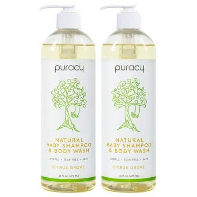 Puracy Natural Baby Shampoo & Body Wash