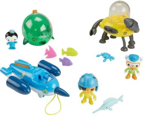 Octonauts Gup Fleet Mega Pack