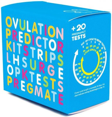PREGMATE Ovulation and Pregnancy Test Strips Predictor Kit