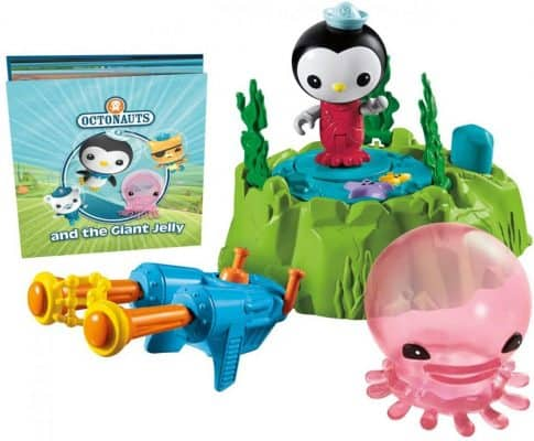 Octonauts Peso & The Giant Comb Jelly Playset