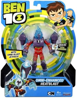 Omni-Enhanced Heatblast Action Figure