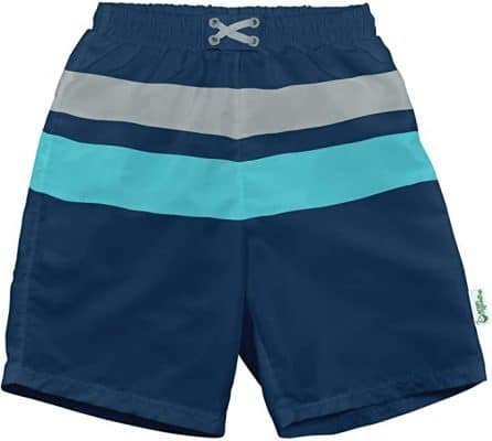 i play. Swim Trunks by green sprouts