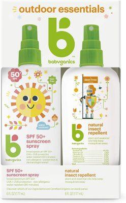 Babyganics Baby Sunscreen and Bug Spray