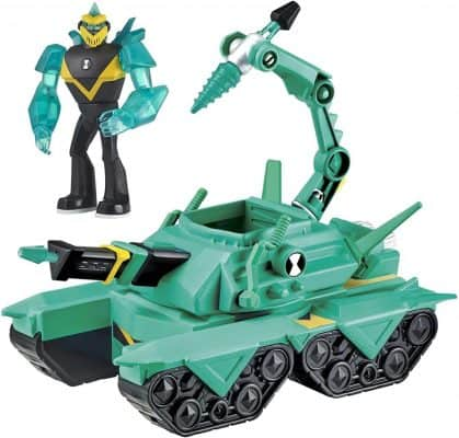 Diamondhead Driller Tank with Figure