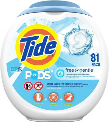 Tide PODS Free and Gentle Laundry Detergent