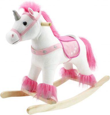 Animal Adventure Unicorn Plush Rocker