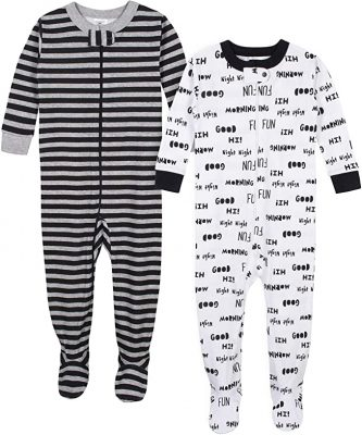 GERBER Baby Boys' Footed Unionsuit