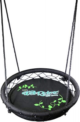 M&M Web Riderz Basket Swing