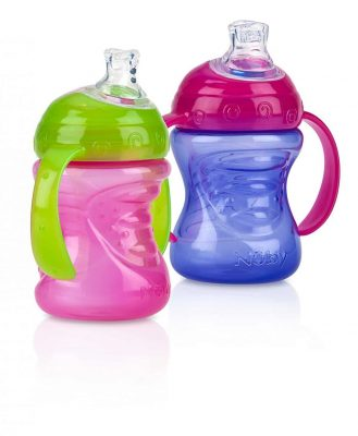 Nuby 2 Handle Cup with No-Spill Super Spout