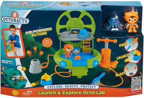 Octonauts Launch and Explore Octo-Lab