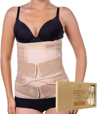 Keababies 3-in-1 Postpartum Belly Support Recovery Wrap