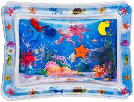 Splashin' Kids Inflatable Tummy Time Premium Water Mat