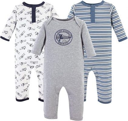 Hudson Baby Cotton Coveralls and Union Suits