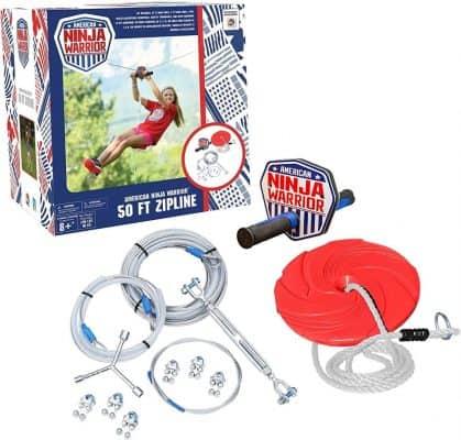 American Ninja Warrior Zipline