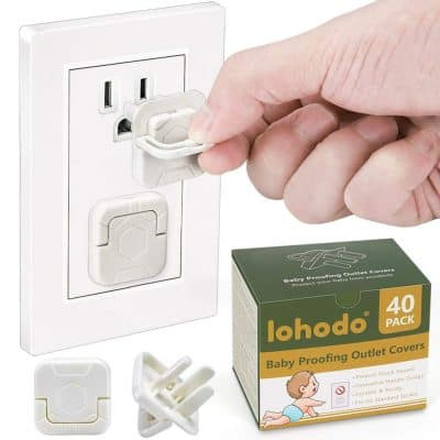 Lohodo Baby Proofing Outlet Covers