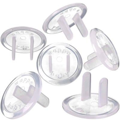 Wappa Baby Clear Outlet Covers