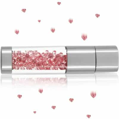 Techkey Crystal Jewelry USB Flash Drive