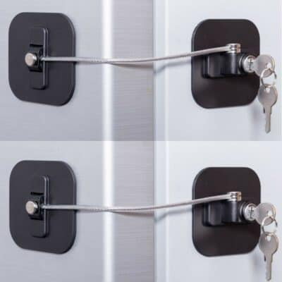 BAOWEIJD Fridge Lock with Keys