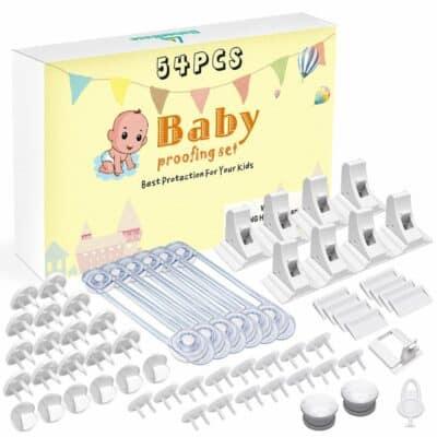 Babee Base Baby Proofing Set