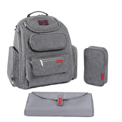 Bag Nation Diaper Bag Backpack Large Capacity