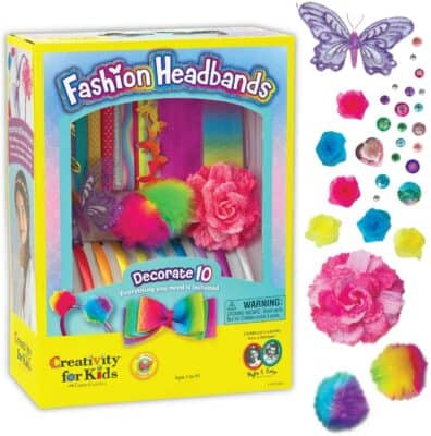 Creativity for Kids Fashion Headbands Craft Kit