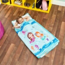Everyday Kids Toddler Nap Mat with Removable Pillow