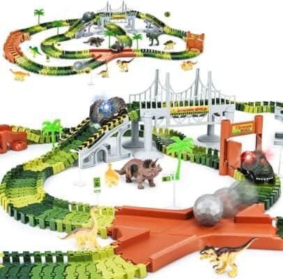 KKONES Create A Dinosaur World Road Race