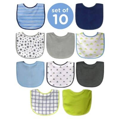Neat Solutions 10 Pack Water Resistant Bib Set